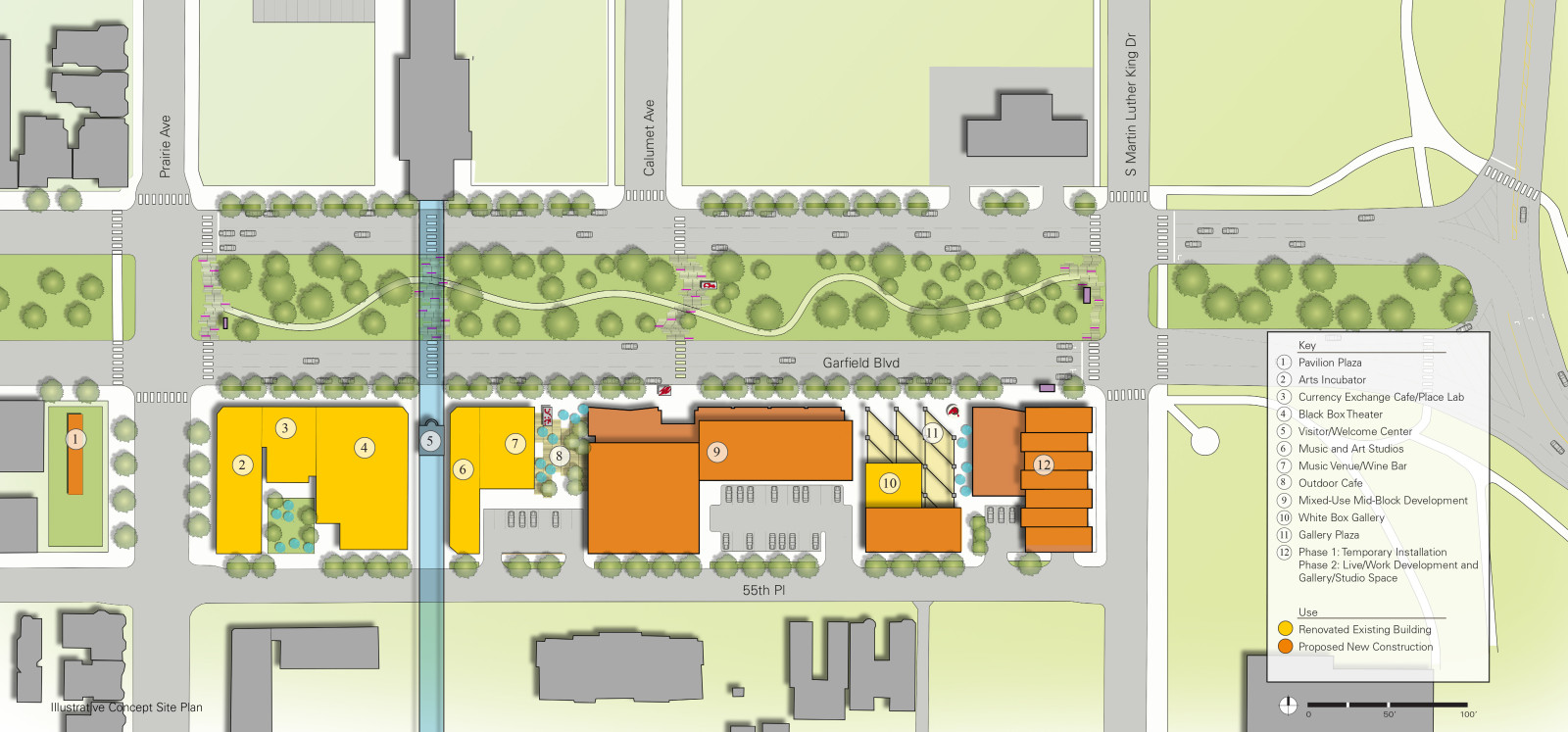 Arts Block Master Plan Scb