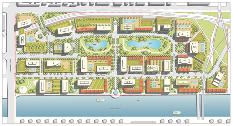 Chicago general developments page 1835 for Site plan app