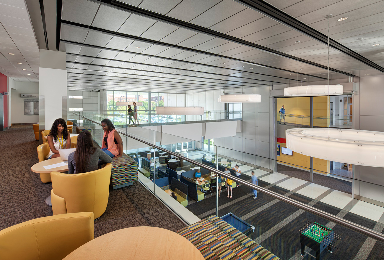 DeVry University Location Chicago IL Category Architecture Campus Environments Student Life Dining Interior Design